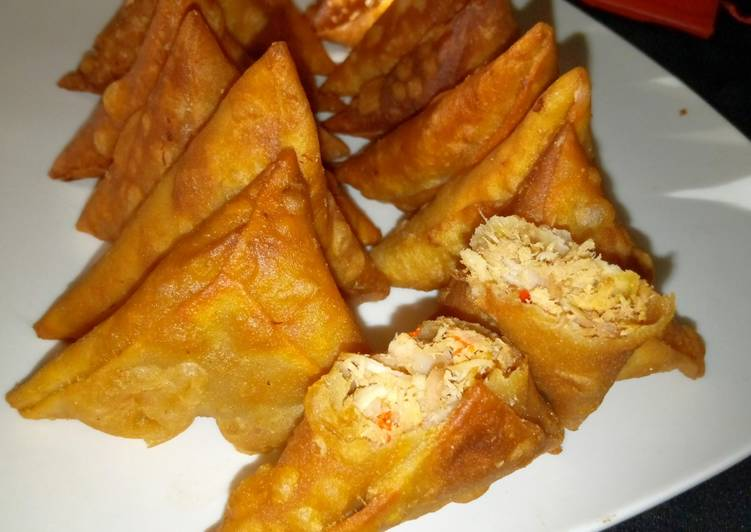 Recipe of Perfect Chicken Samosa