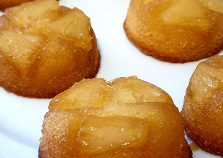 Ananas Upside-down Muffins