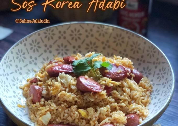 Nasi Goreng Sos Korea Adabi