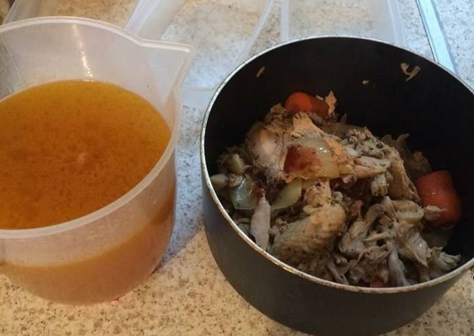Steps to Make Ultimate Chicken stock