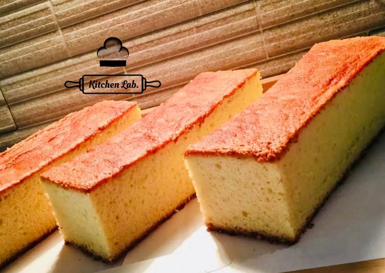 Japanese Castella cake (Kasutera)