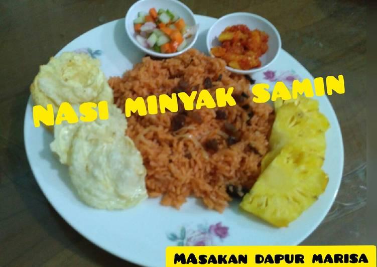 Nasi MINYAK SAMIN khas Palembang