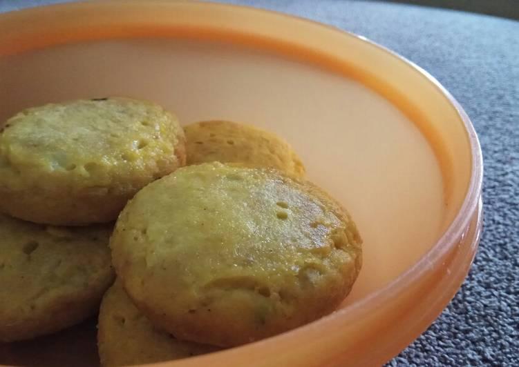 Resep Pancake ikan finger food 10m+ (bisa untuk lauk anak) Terenak