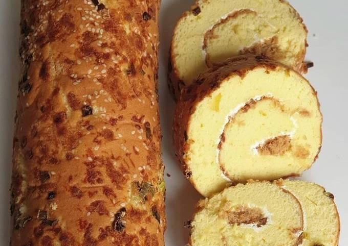 ♥️ Roti Roll Abon Wijen ♥️