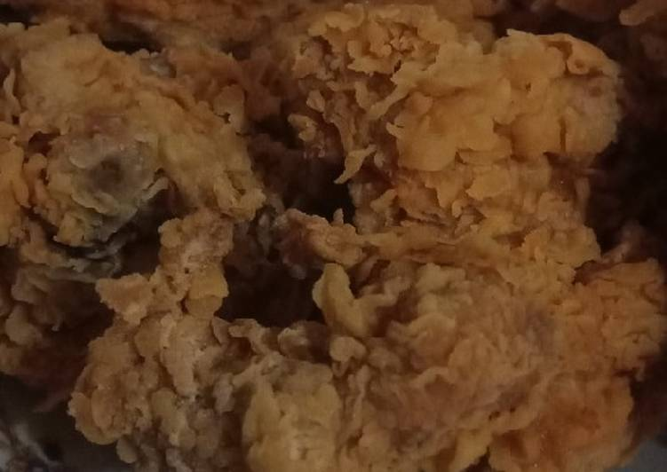 Ayam Goreng Crispy Praktis