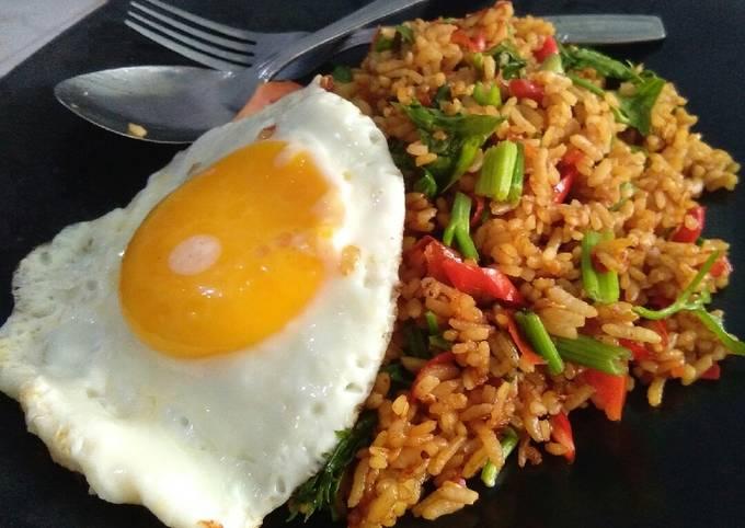 Nasi goreng No minyak, bisa untuk diet 😍