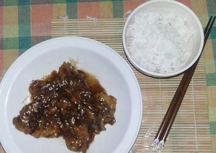 Chicken Teriyaki ala Saya