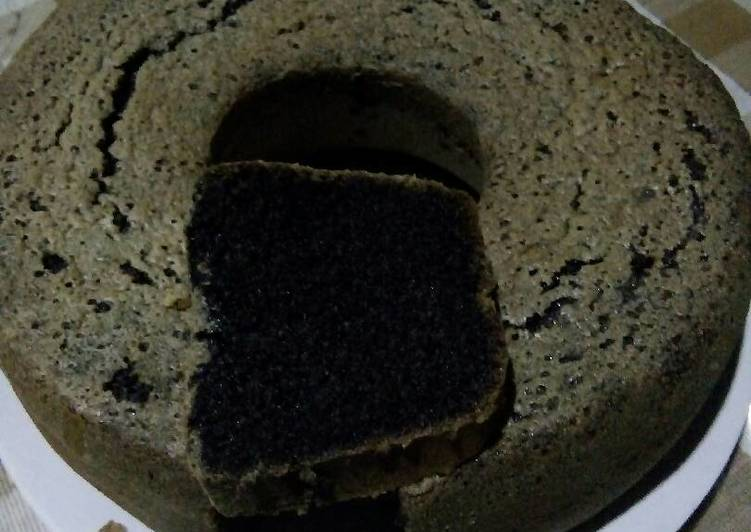 resep bikin Bolu ketan hitam panggang - Sajian Dapur Bunda