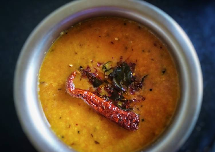 Simple Way to Make Any-night-of-the-week Tomato pappu dal
