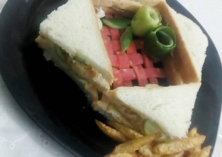 Easiest Way to Prepare Favorite Tandori Chicken Sandwich