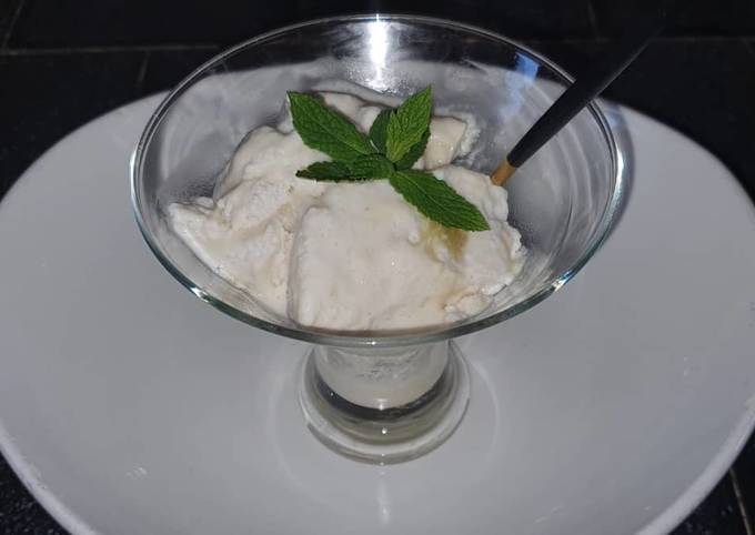 Easiest Way to Make Appetizing Vegan Pineapple Ripple Ice Cream