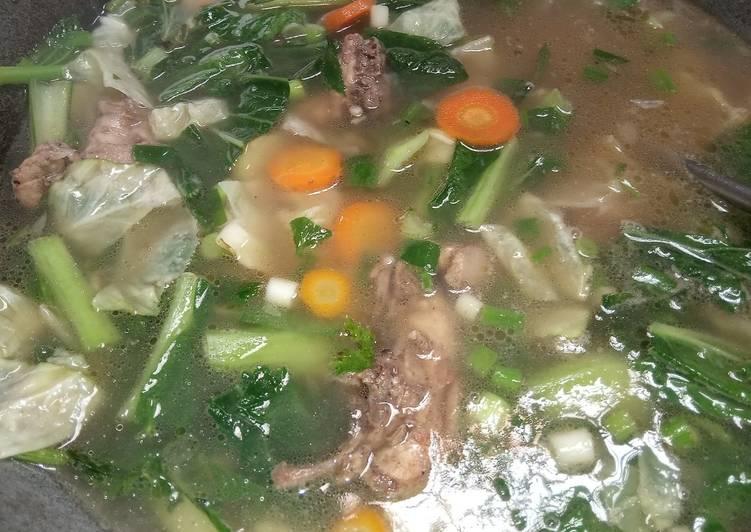 Resep Sup Ayam Yang Simple Endes