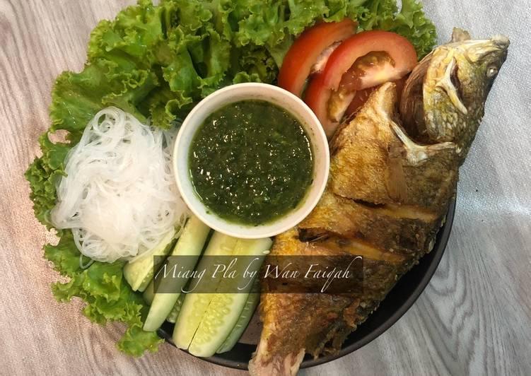 Resepi:  Miang Pla Thai 🌶🥒🥬🐟 Simple
