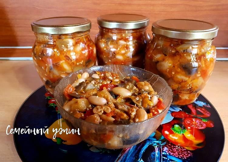 рецепты из фасоли заготовки на зиму