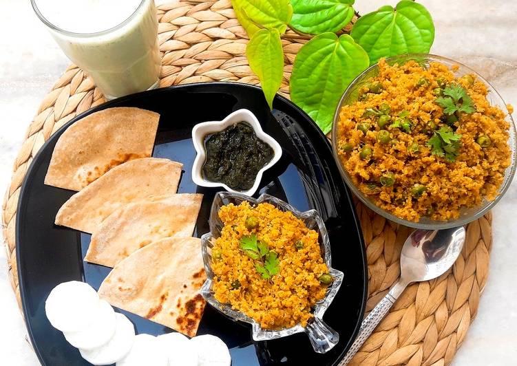 Gobhi ka Keema or Minced Cauliflower