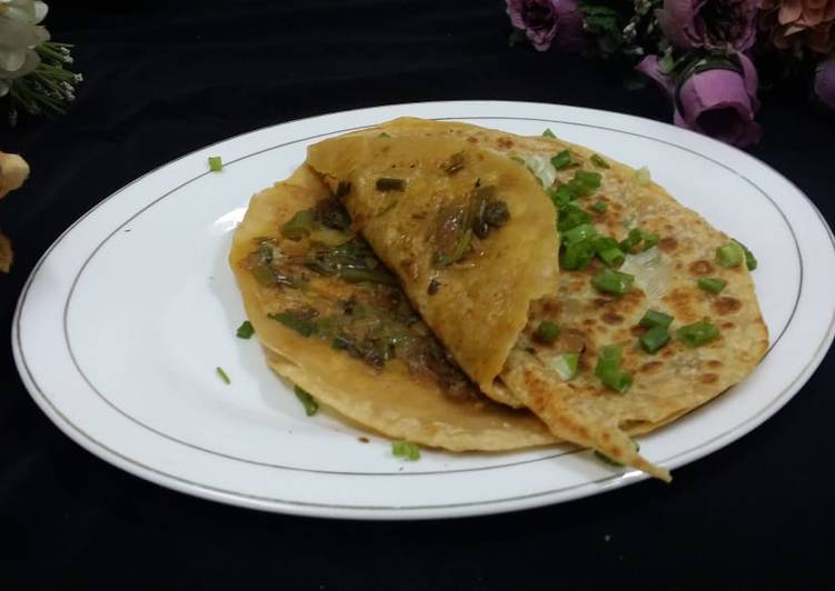 Step-by-Step Guide to Prepare Perfect Spring Onion Parathas