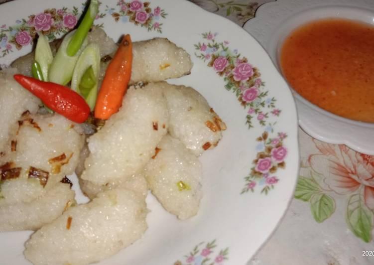 Pempek Nasi (2 bahan aja)