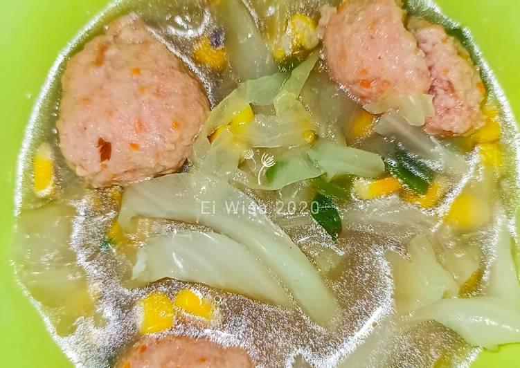 Cara membuat Bakso ayam wortel dan sayuran #Diet