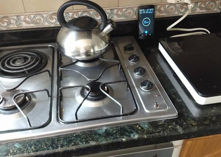 que es agua templada en cocina