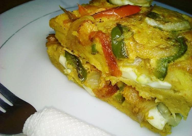 Recipe of Supreme Perfect Mashed potato omelet