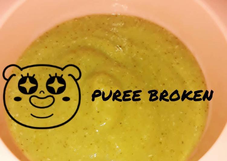 Puree Broken (Brokoli Kentang)