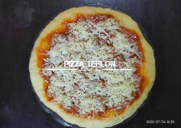 Resep Pizza Teflon yang enak
