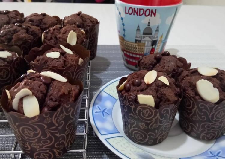Chocolate Custard Muffin ala Tintin Rayner
