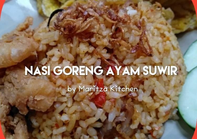 Resep Nasi Goreng Ayam Suwir Bikin Laper