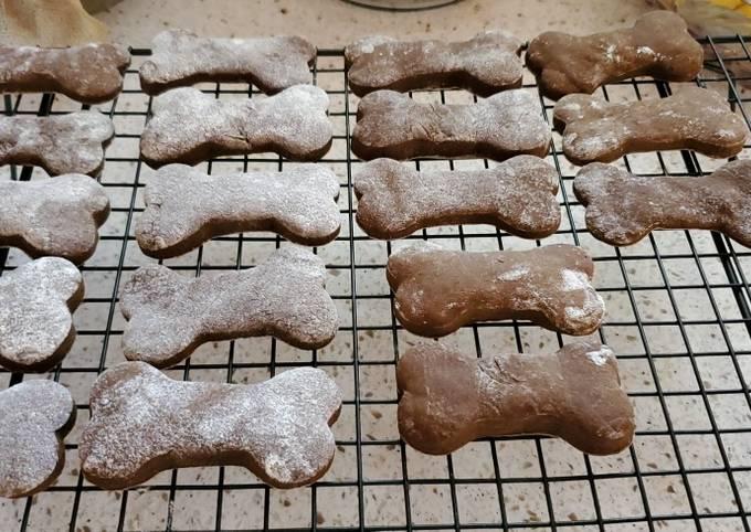 Recipe: Delicious Cinnamon Molasses Dog Biscuits