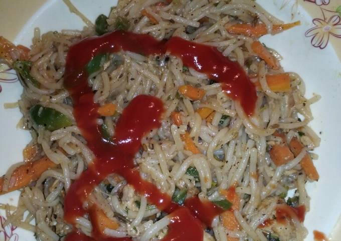 Chinese touch Rice & noodles#cookpad app