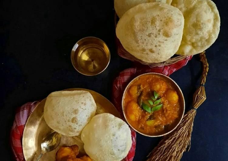 How to Make Tasty কারিপাতা আলুর দম