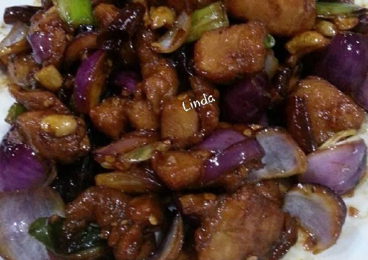Resep Kong pao chicken Bikin Jadi Laper