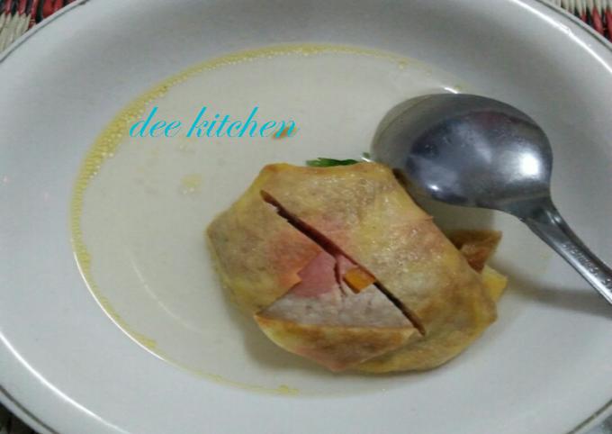 Resep Sup matahari khas solo, Sempurna