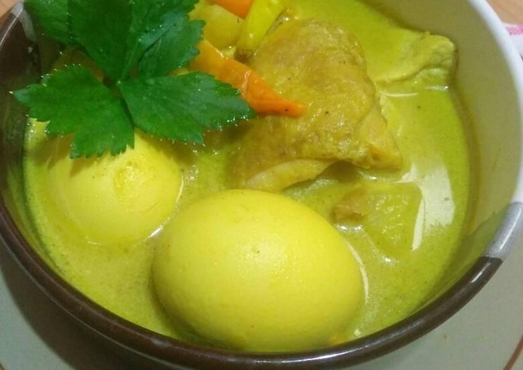 Resep Sayur Terik Kentang Telur Yang Gampang Pasti Enak
