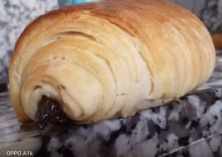 Recipe of Ultimate Croissants perfect way petit pain au chocolat