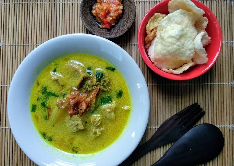Soto Kuning khas Bogor