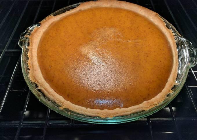 Recipe: Yummy Grandma Betty's Pumpkin Pie