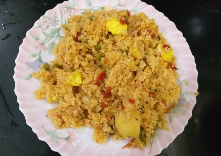 How to Prepare Delicious Vegetables pulav