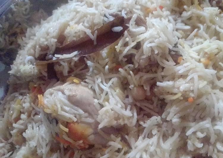 Chana Chicken Biryani Pulao