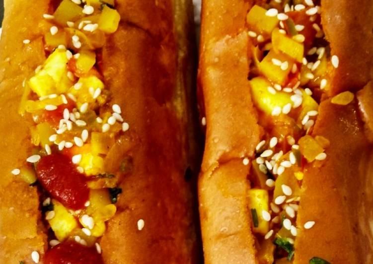 Recipe of Top-Rated Hotdog health wrap