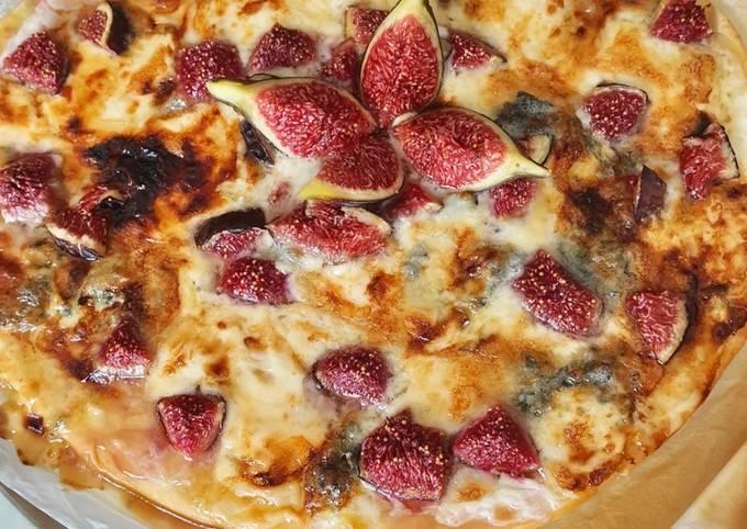 Pizza figue gorgonzola