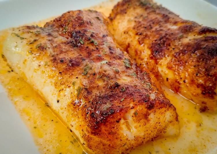 Foods That Make Your Mood Better Spiced Cod Fillets in Lemon Butter