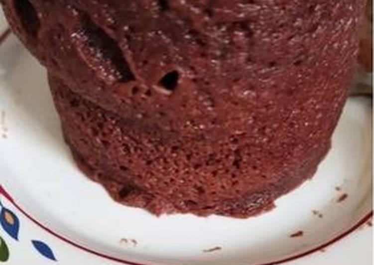 Mug cake chocolat cétogène