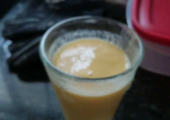 Morning Orange Smoothie