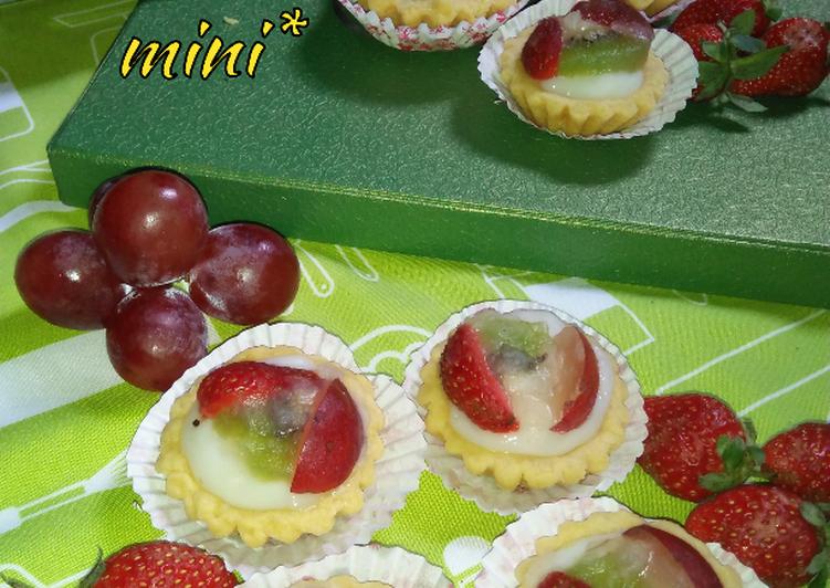 Resep *pie buah mini* Paling Enak