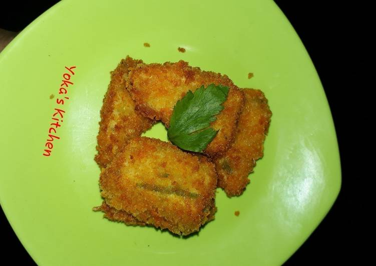 Nugget Ayam Brotel (Brokoli Wortel)
