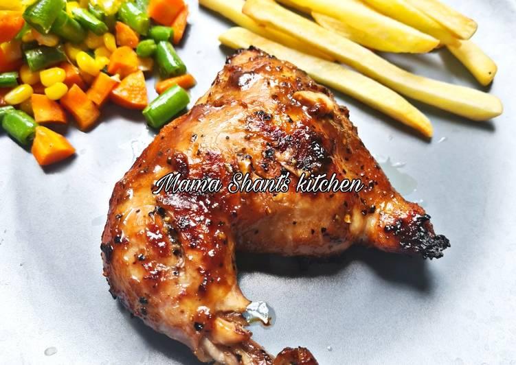 Ayam Panggang Blackpepper - cookandrecipe.com