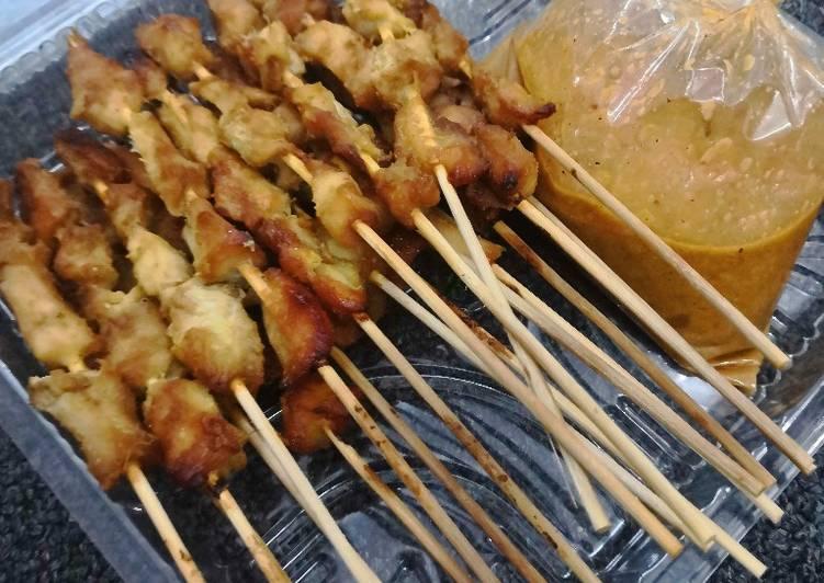 Sate ayam panggang oven - cookandrecipe.com