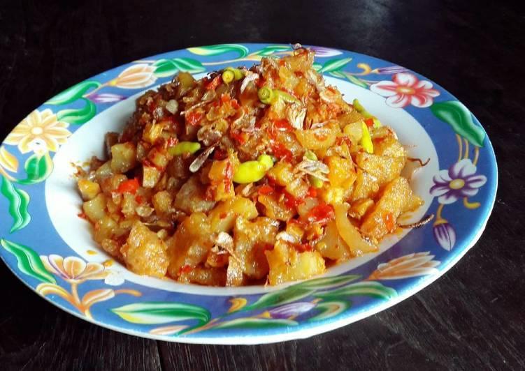 Sambal goreng kentang&krecek