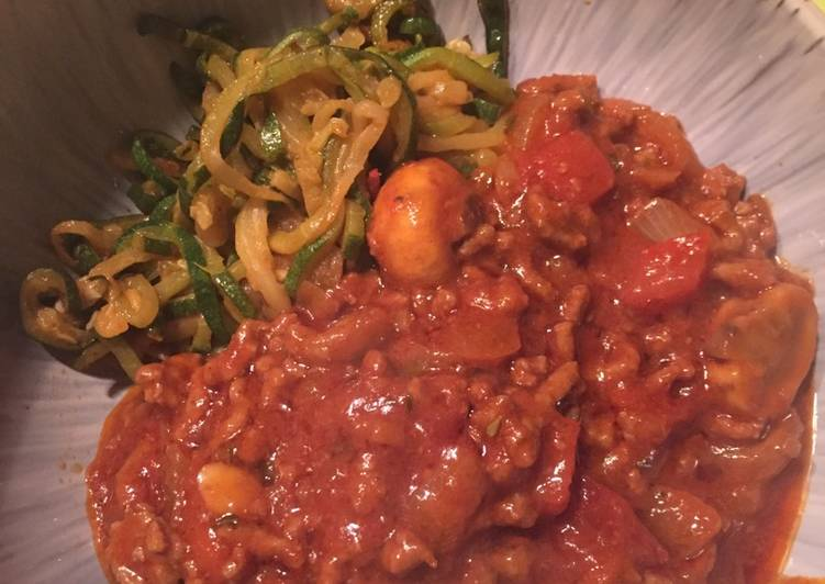New Secret Low Carb Zucchini Noodles and Spaghetti Sauce Free Download